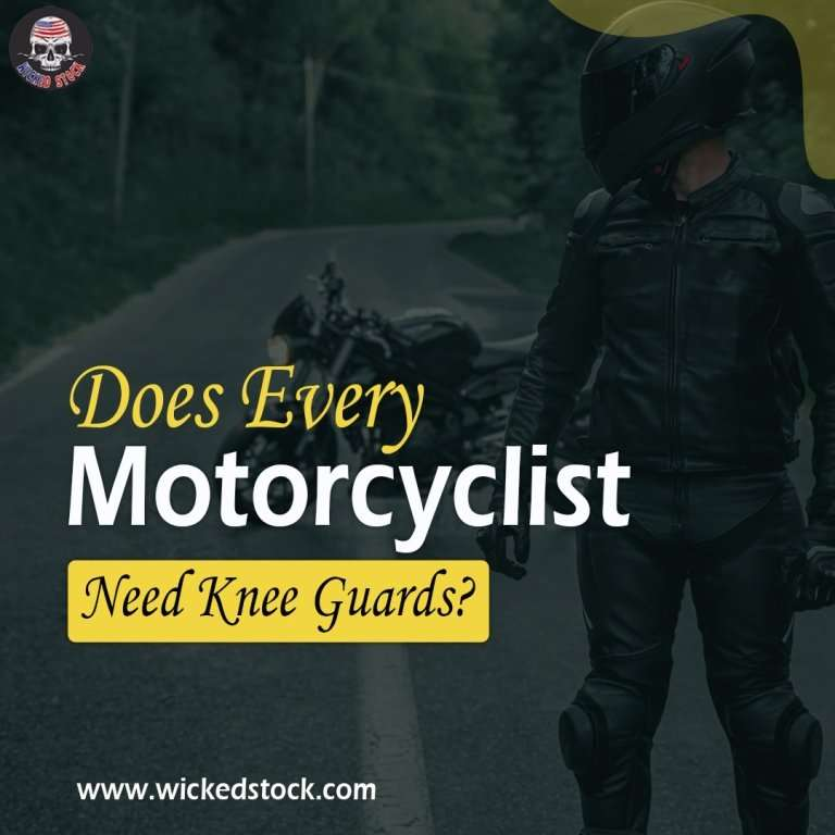 Does Every Motorcyclist Need Knee Guards