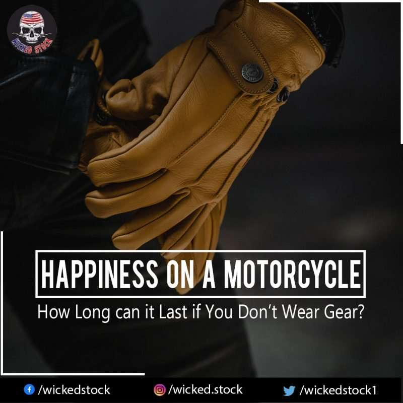 Happiness on a Motorcyc
