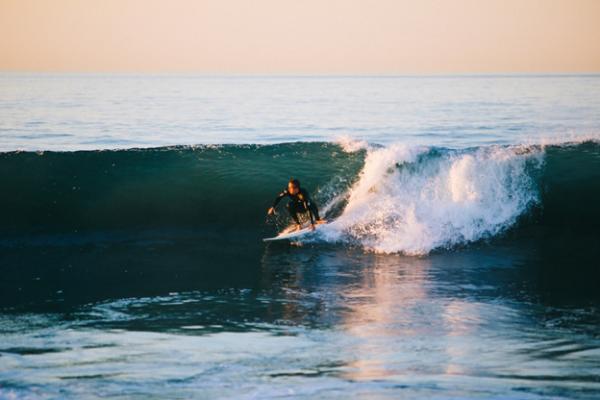 water-surfing