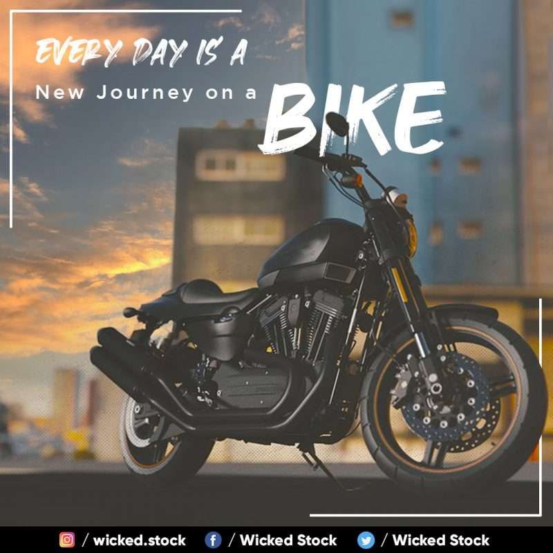 Every Day is a New Journey on a Bike