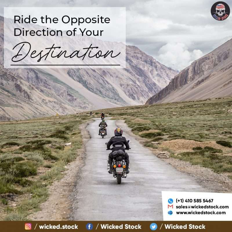 Ride the Opposite Direction of Your Destination!