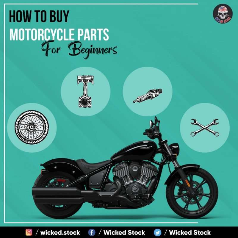 How To Buy Motorcycle Parts For Beginners
