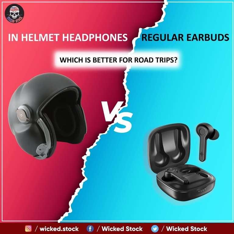 In-Helmet-Headphones-Vs-Regular-Earbuds-Which-Is-Better-For-Road-Trips