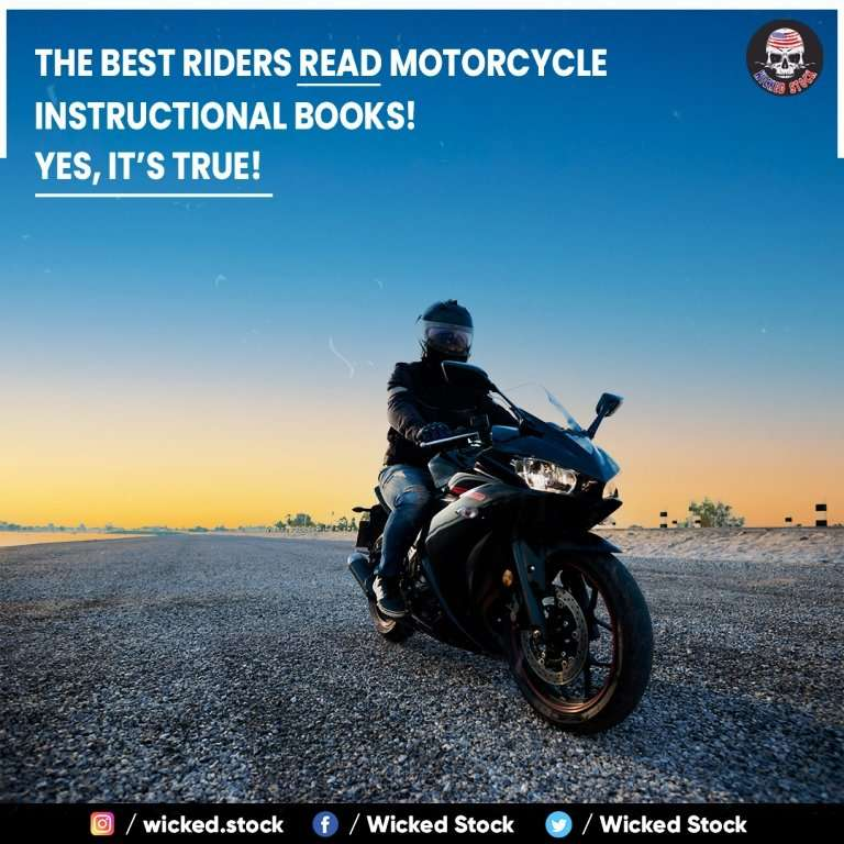 The Best Riders Read Motorcycle Instructional Books! Yes, It's True!