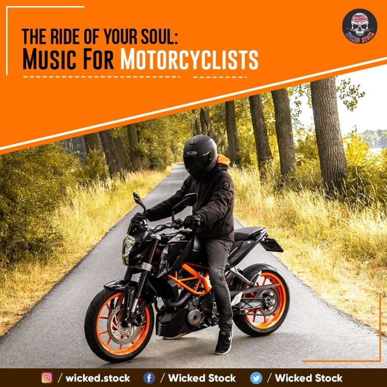 The Ride Of Your Soul- Music For Motorcyclists